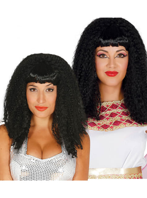 Brun pop star paryk til kvinder