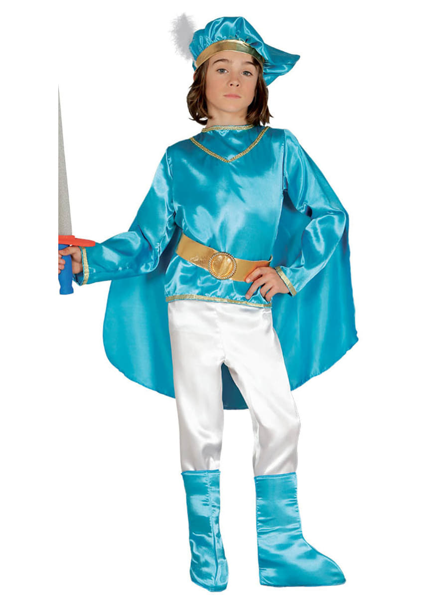 Boyu0027s Handsome Prince Costume. Detalle Zoom  sc 1 st  Funidelia & Boyu0027s Handsome Prince Costume. The coolest   Funidelia