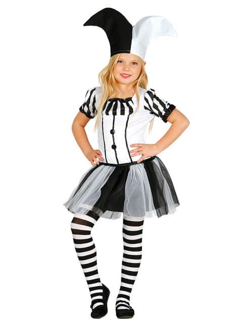Girl's Harlequin Costume