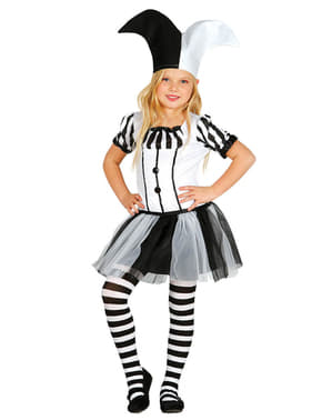 Girl's Harlequin Costume