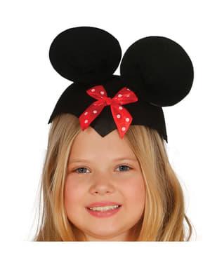 Sombrero de ratoncita para niña
