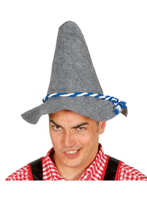 Sombrero de tirolés para hombre