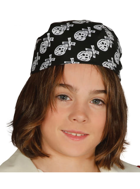 Foulard pirate enfant