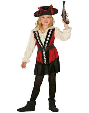 Girl's Skull Pirate Costume