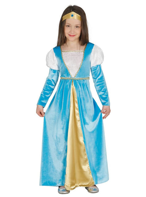 Girl's Medieval Princess Costume