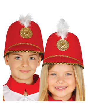 Lasten Punainen Majorette-hattu