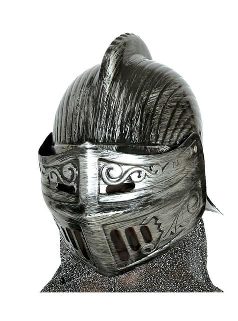 Casco medieval para adulto