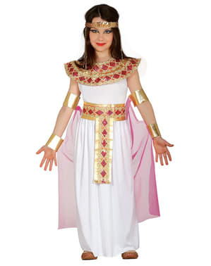Dievčenský kostým egyptskej kráľovnej