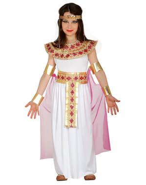 תלבושות המלכה המצרית של ילדה