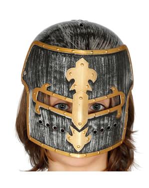 Mittelalterlicher Helm für Kinder