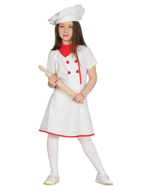 Girl's Cook Costume