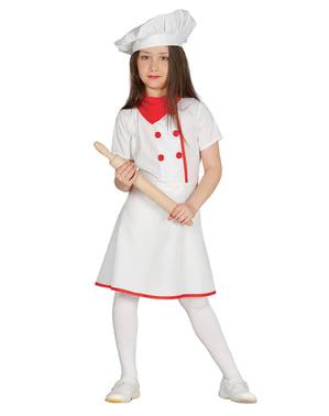 Chefköchin Kostüm für Mädchen