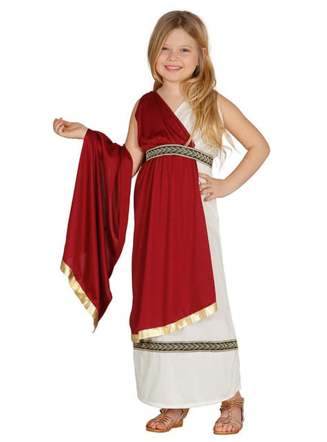 Girl's Elegant Roman Costume