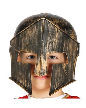 Helm spartaan voor kinderen