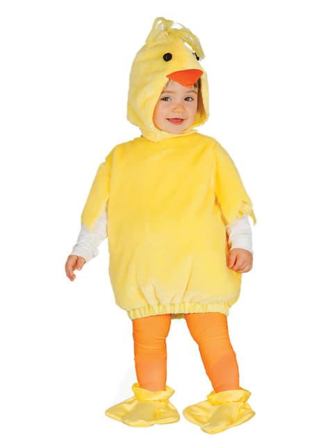 Disfraz de pollito pio para bebé