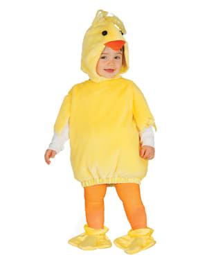 Costum de puișorul piu pentru bebeluși