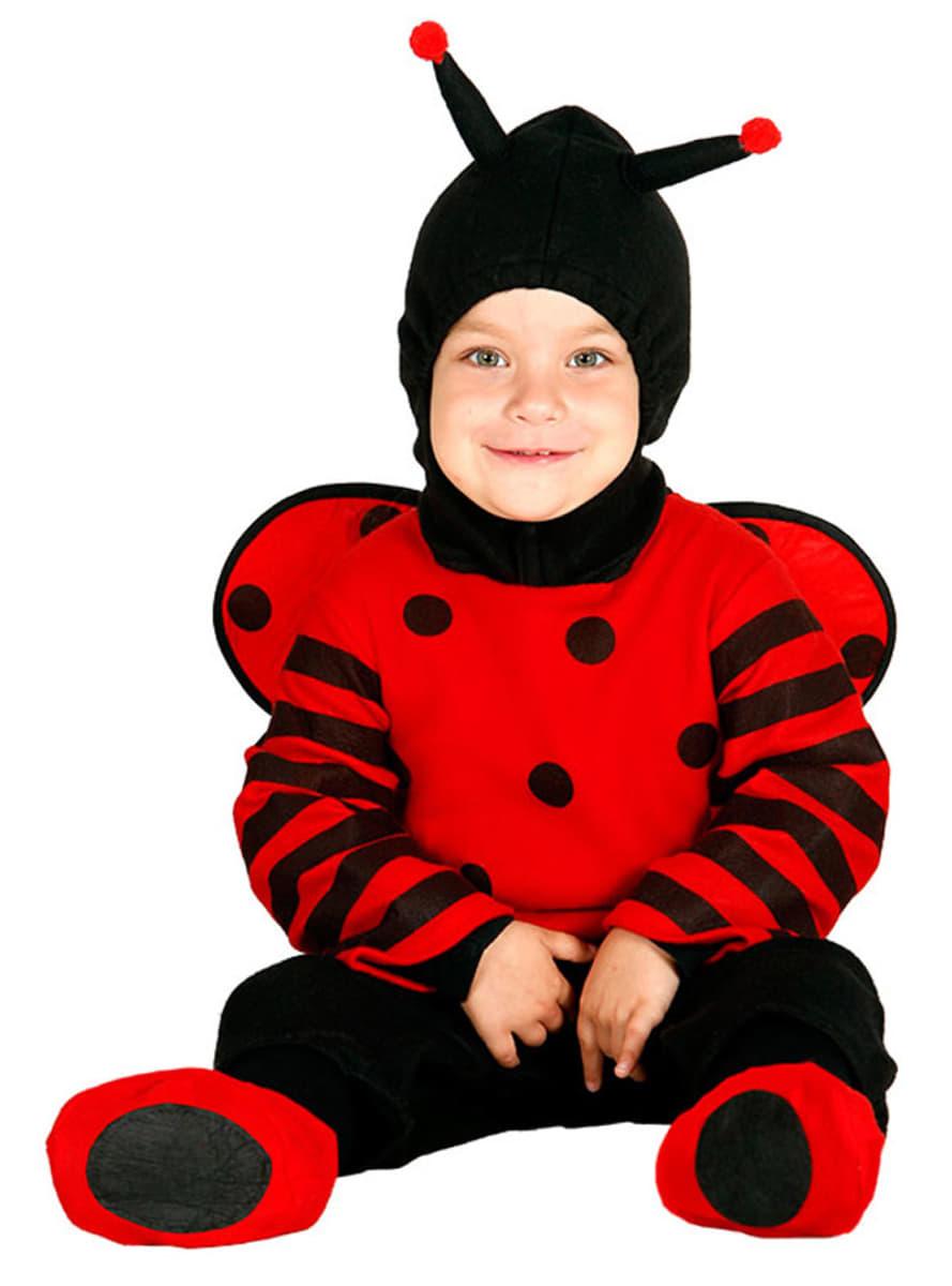 Disfraz de mariquita traviesa para beb funidelia - Disfraz de mariquita de nina ...