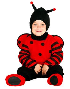 Ondeugend lieveheersbeestje kostuum voor baby