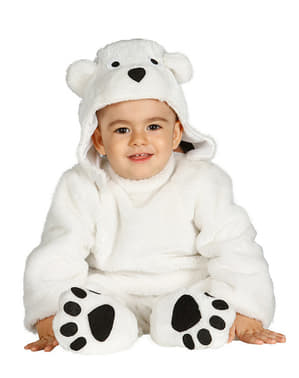 Ijsbeertje kostuum voor baby
