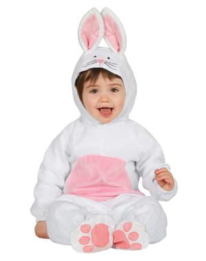 Déguisement doux lapin bébé
