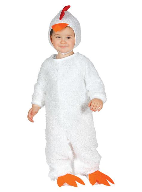 Disfraz de gallina ponedora para bebé