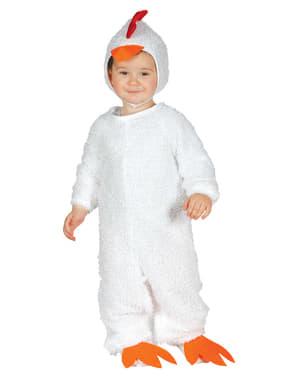 Costume da gallina coccodè per neonato