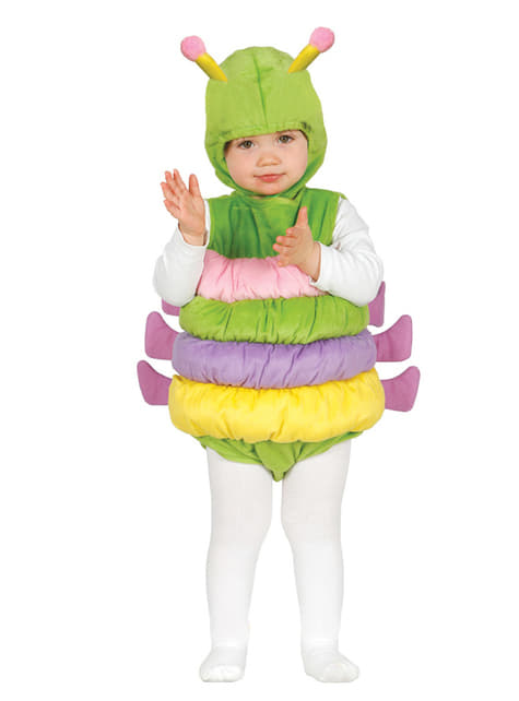 Baby's Adorable Little Worm Costume