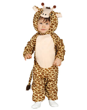 Costum de girafă simpatică pentru bebeluși