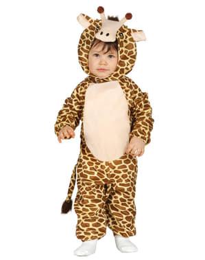 Maskeraddräkt jirafa tierna för barn