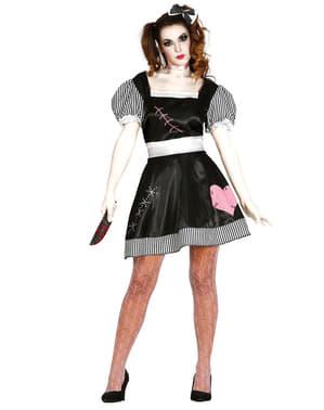 Mörderpuppen Kostüm für Damen