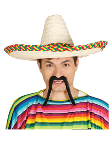 Sombrero mexicano para adulto d6e3f7399fe