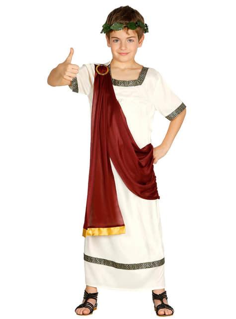 Disfraz de romano elegante para niño