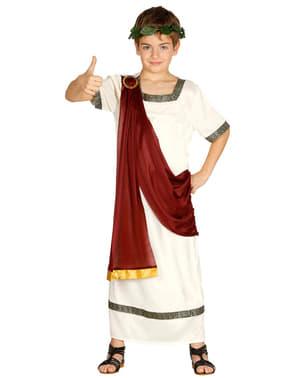 Детски елегантен костюм на римлянин