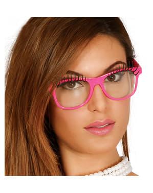 Gafas con pestañas para adulto