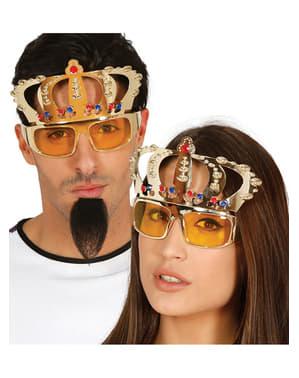 Gafas de la realeza para adulto