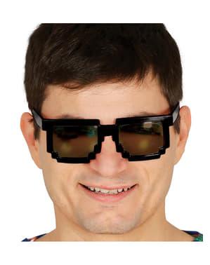 Óculos pixelados para adulto