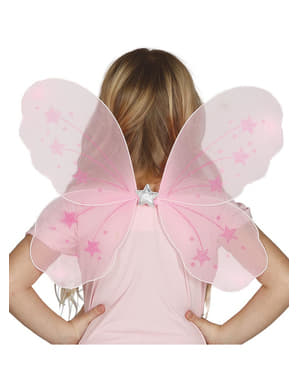 Dětská křídla růžová