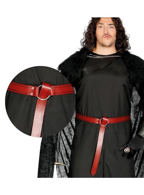 Adult's Red Medieval Belt