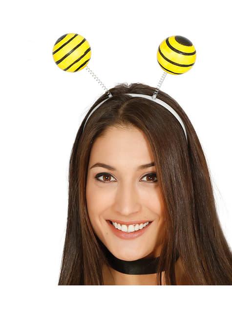 Čelenka s včelími tykadly pro dospělé