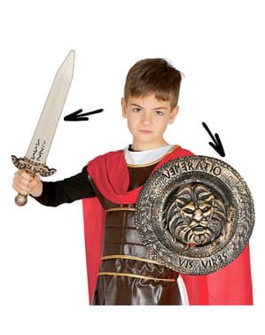 Set guerriero romano per bambino