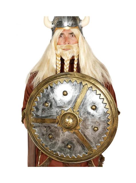 Escudo vikingo redondo para adulto