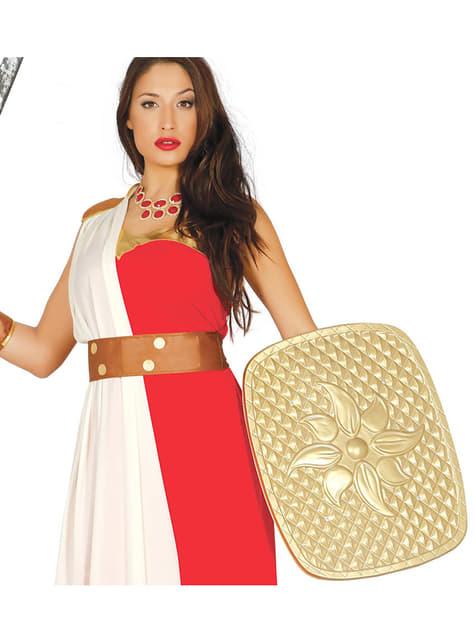 Adult's Gold Roman Shield