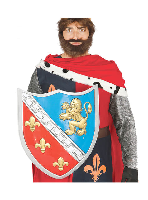 Escudo medieval para adulto