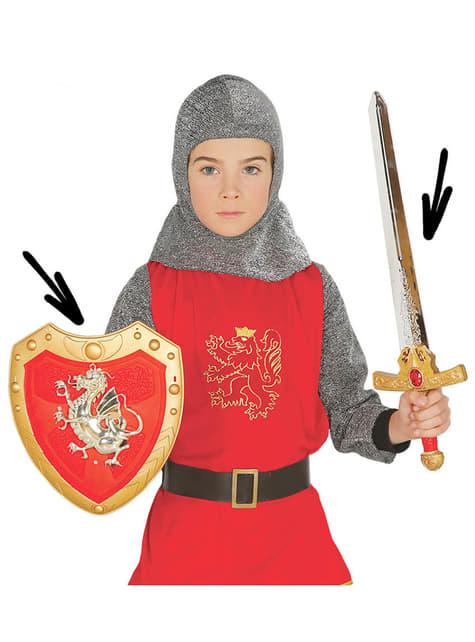Kit soldado medieval infantil
