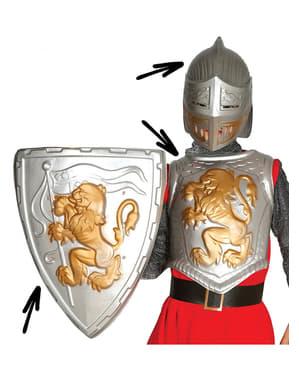 Набір середньовічного лицаря для дітей
