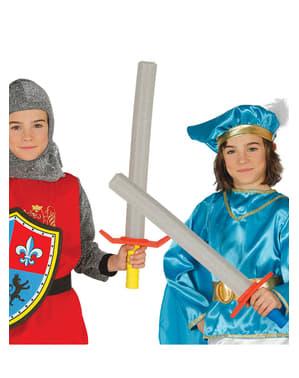 Middelaldersværd til børn