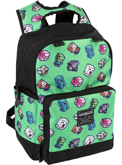 Wytłaczany plecak Mini Moby Minecraft