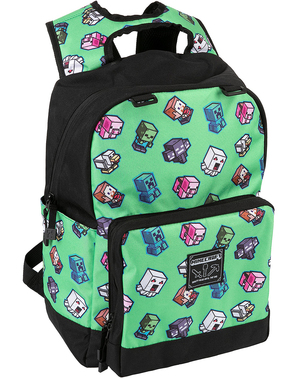 Mini Mobs Minecraft Embossed Backpack