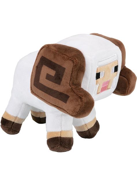 Peluche Minecraft oveja con cuernos exploradora 15cm
