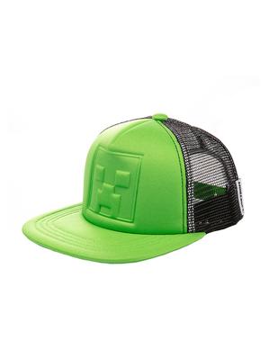 Green Minecraft Creeper Cap